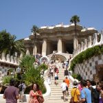 "The City Warming Your Heart: Barcelona ""PARK GUELL"""