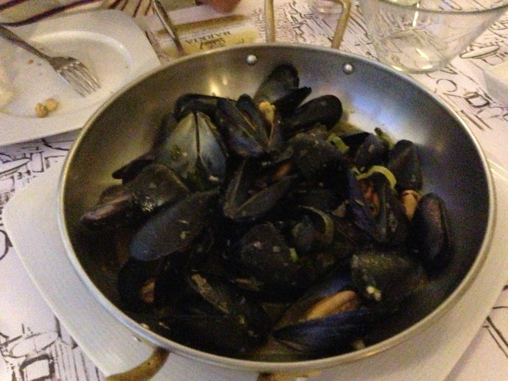 Bolied Mussels